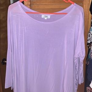 Lavender Piko Dress